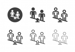Human Balance Icons - Multi Series