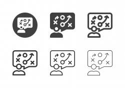 Thinking Planning Icons - Multi Series
