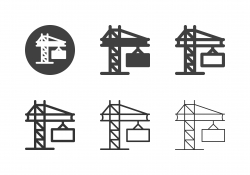Cargo Crane Icons - Multi Series