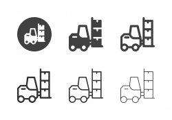 Forklift Icons - Multi Series