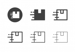 Fast Shipping Icons - Multi Series