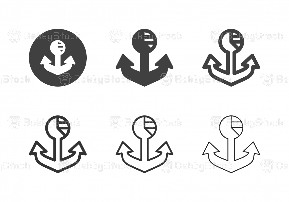 Anchor Analytics Icons - Multi Series