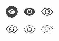 Eye Target Icons - Multi Series