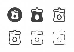 Blood Bag Icons - Multi Series