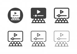Video Presentation Icons - Multi Series