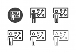 Planning Presentation Icons - Multi Series