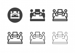 Job Interview Icons - Multi Series