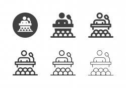 Business Training Icons - Multi Series