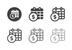 Annual Payment Icons - Multi Series
