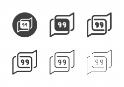 Comment Icons - Multi Series