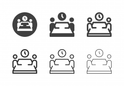 Meeting Time Icons - Multi Series