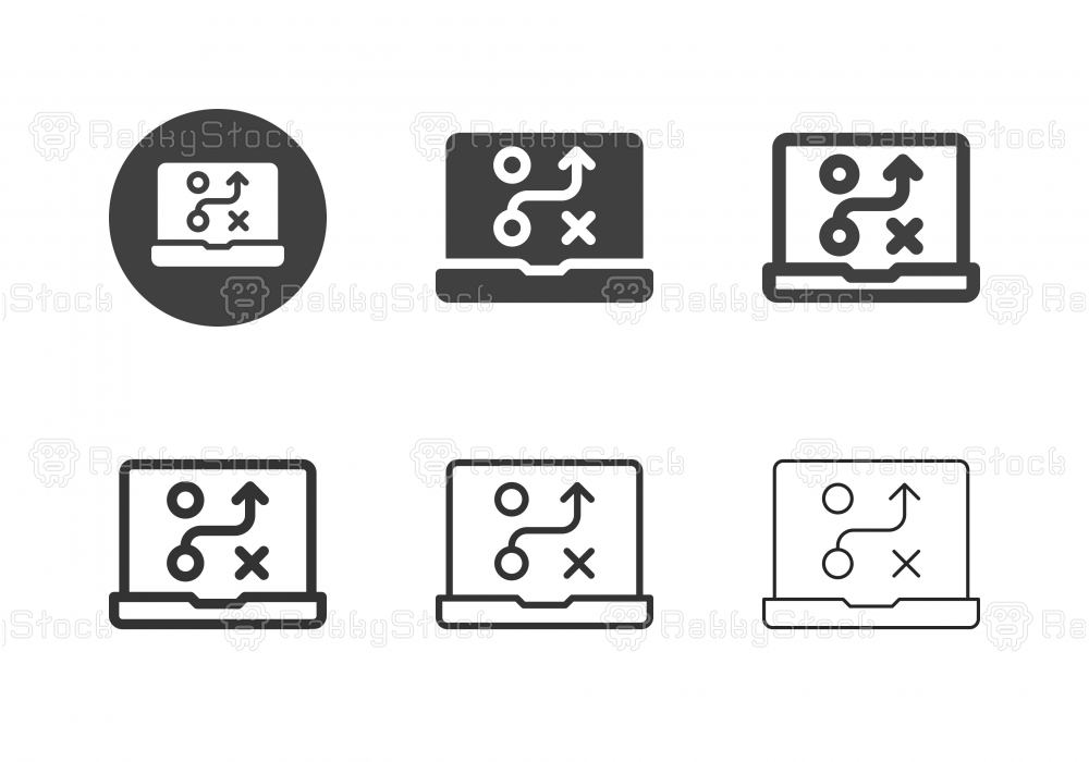 Digital Planning Icons - Multi Series