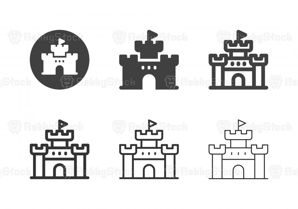 Castle Icons - Multi Series