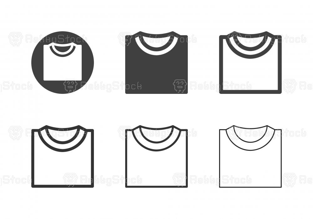 T-Shirt Icons - Multi Series