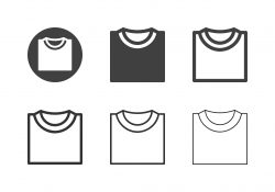 T-Shirt Icons - Multi Series
