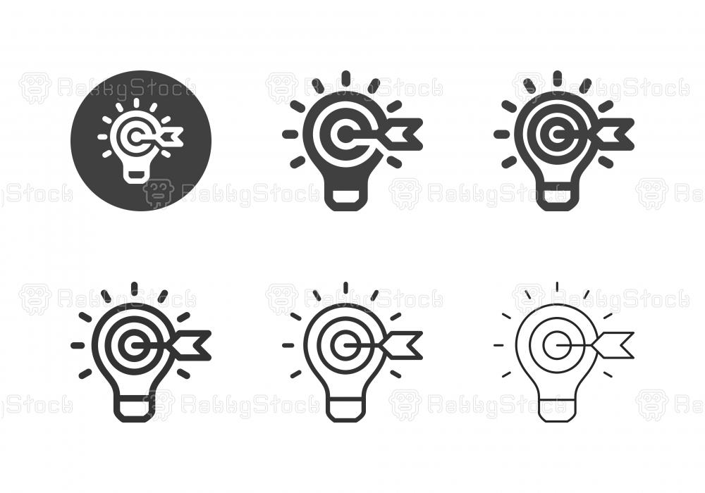 Target Idea Icons - Multi Series