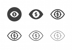 Financial Focus Icons - Multi Series