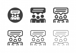 Share Ideas Icons - Multi Series