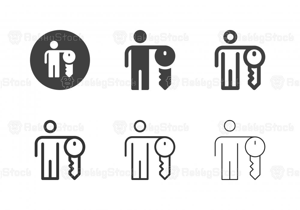 Key Man Icons - Multi Series