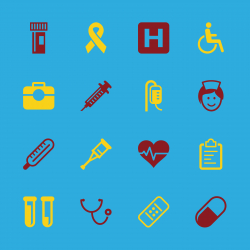 Healthcare and Medicine Icons - Color Series | EPS10