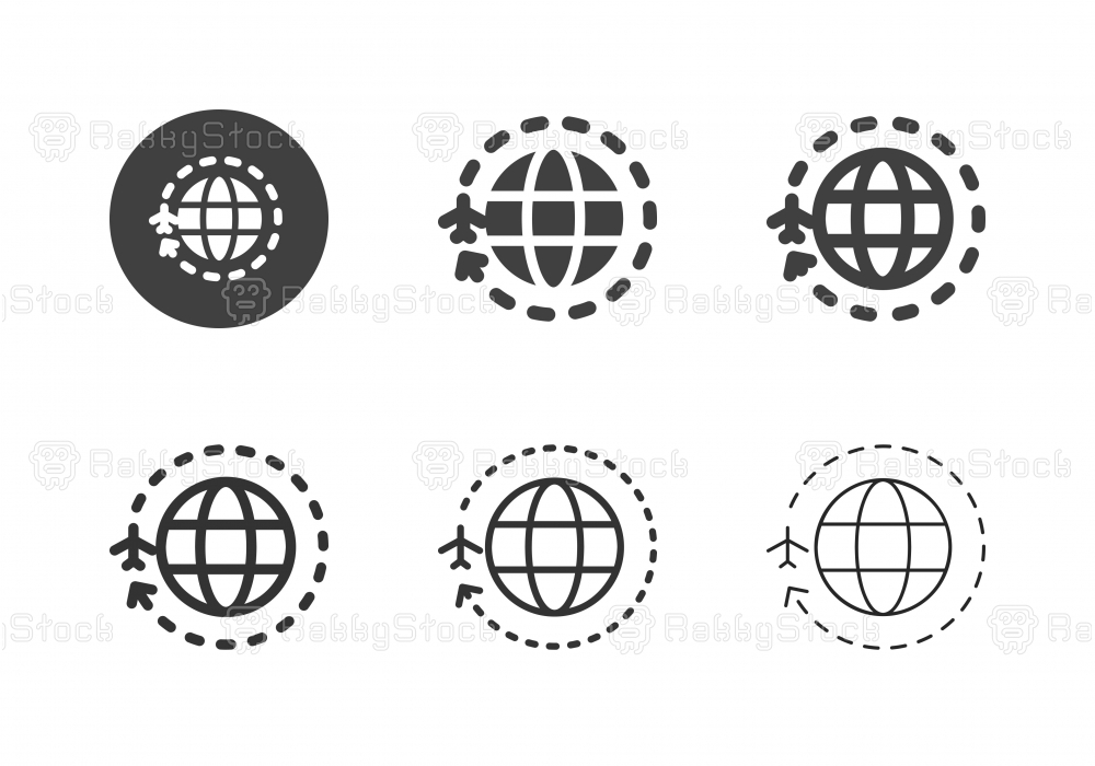 Around the World Icons - Multi Series