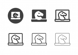 Business Strategy Icons - Multi Series