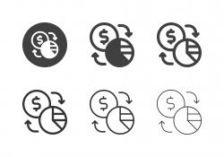 Financial Exchange Icons - Multi Series