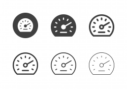 Auto Meter Icons - Multi Series