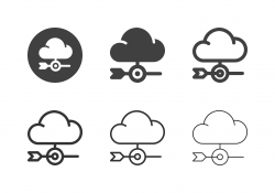 Cloud Marketing Icons - Multi Series