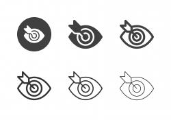 Target Focus Icons - Multi Series