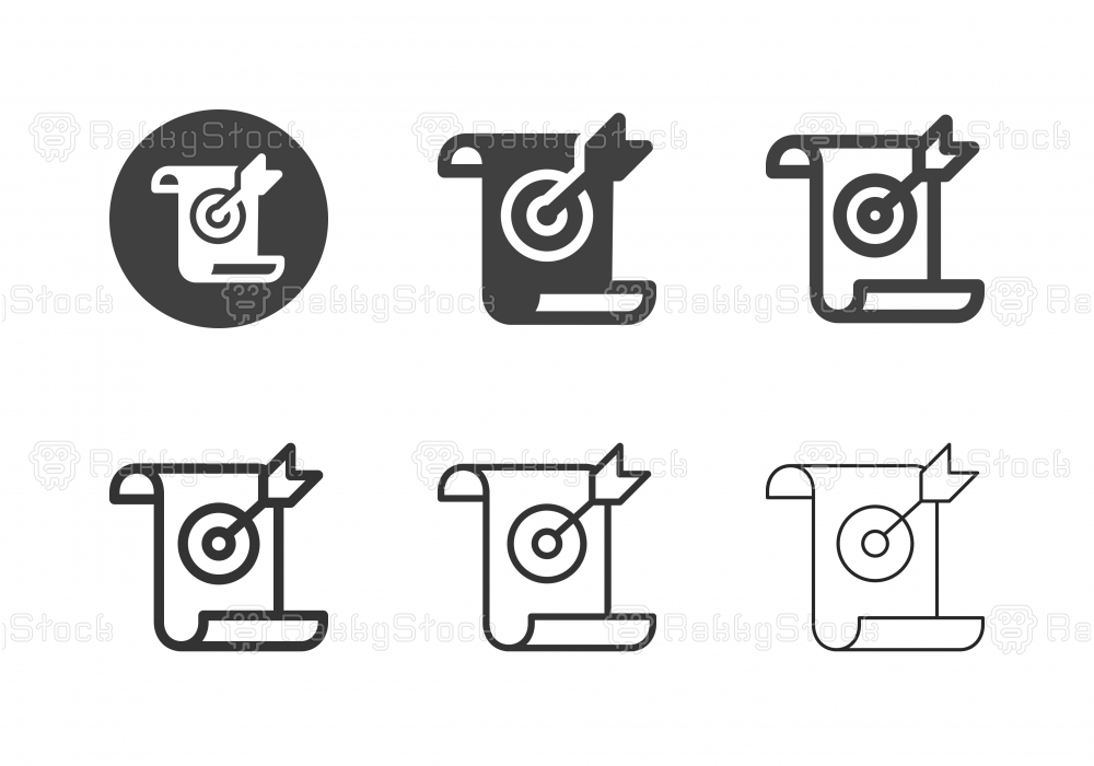 Document Target Icons - Multi Series