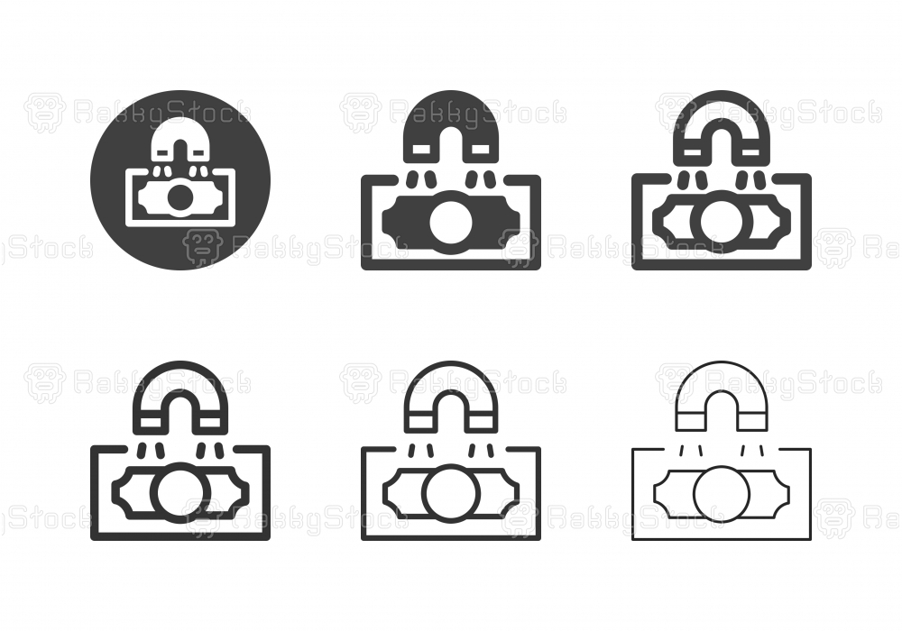 Magnetic Money Icons - Multi Series