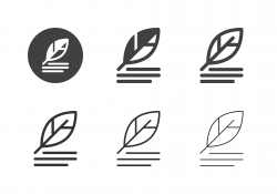 Quill Pen Icons - Multi Series