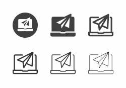 Digital Communication Icons - Multi Series