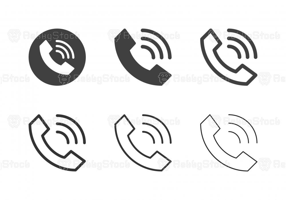 Internet Calling Icons - Multi Series