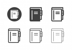 Address Book Icons - Multi Series