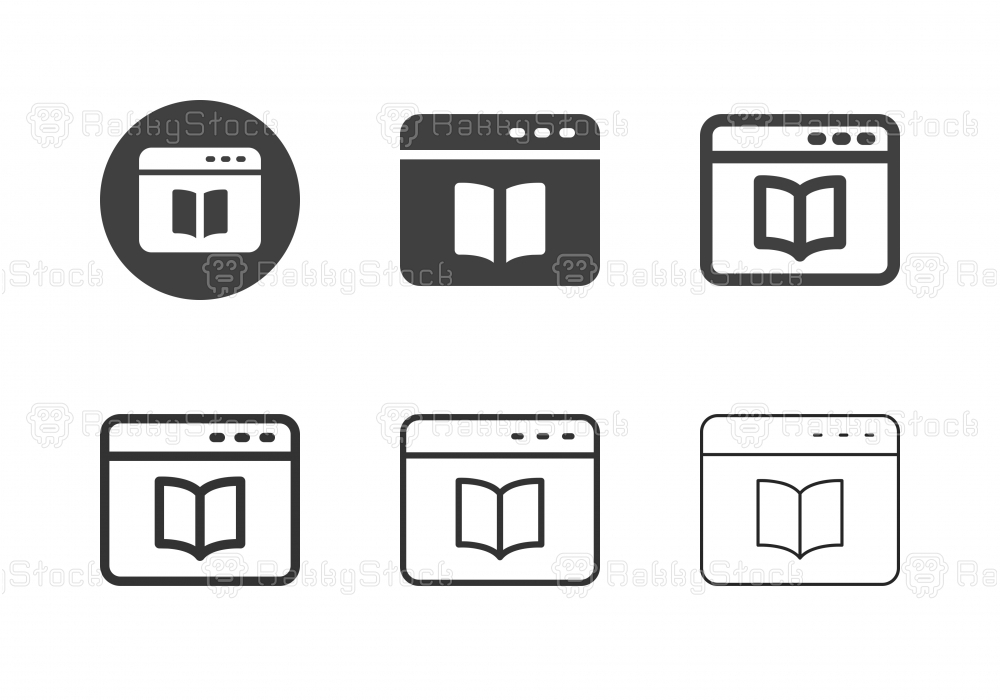 E-Book Icons - Multi Series