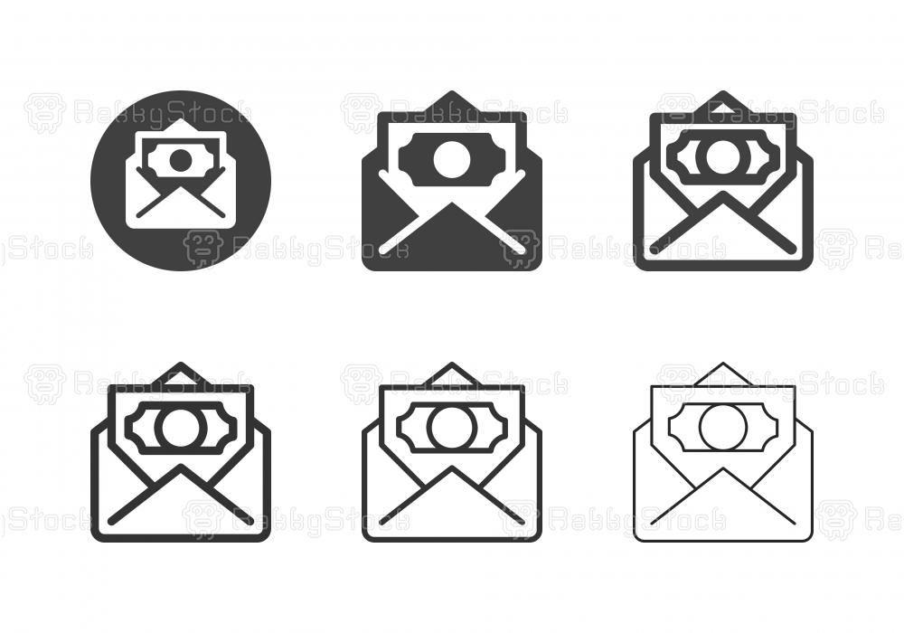Salary Icons - Multi Series