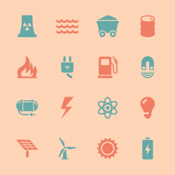 Energy Icons - Color Series | EPS10