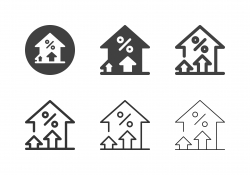 Financial Growth Icons - Multi Series