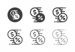 Interest Transfer Icons - Multi Series