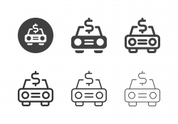 Car Finance Icons - Multi Series