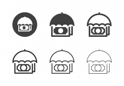 Financial Insurance Icons - Multi Series