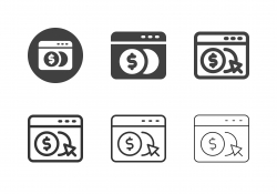 Digital Currency Icons - Multi Series