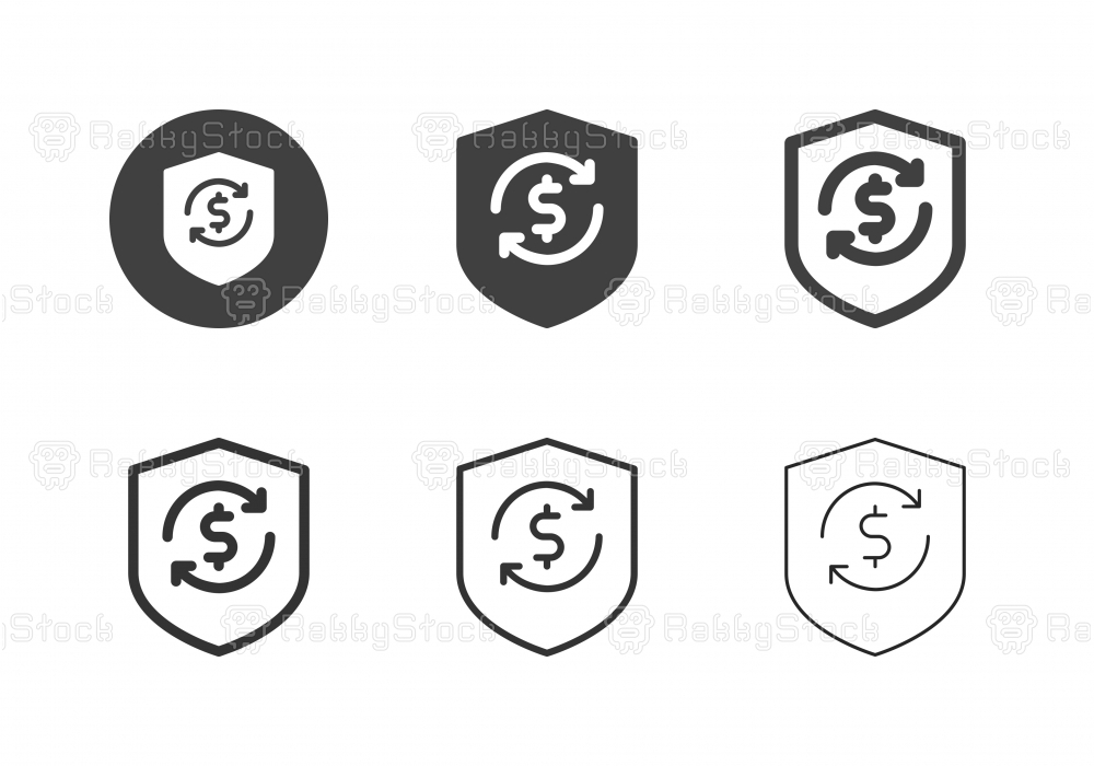 Money Protect Icons - Multi Series