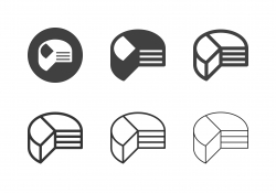 Pie Chart Icons - Multi Series