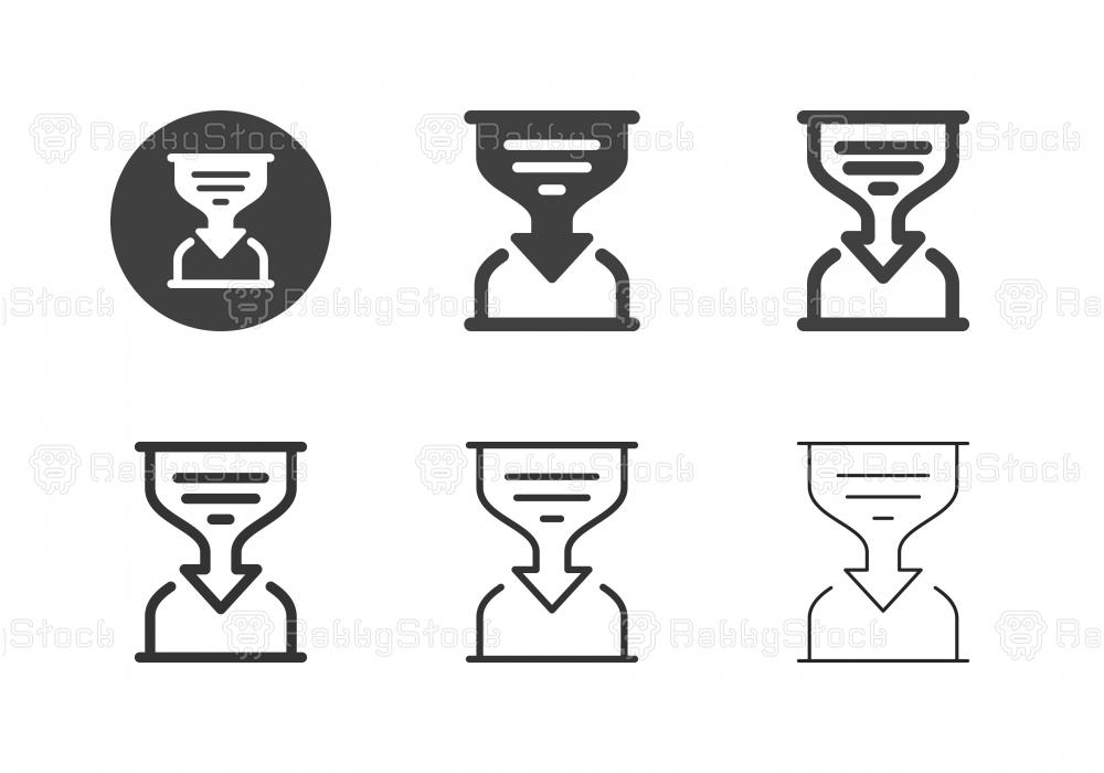 Analyzing Time Icons - Multi Series