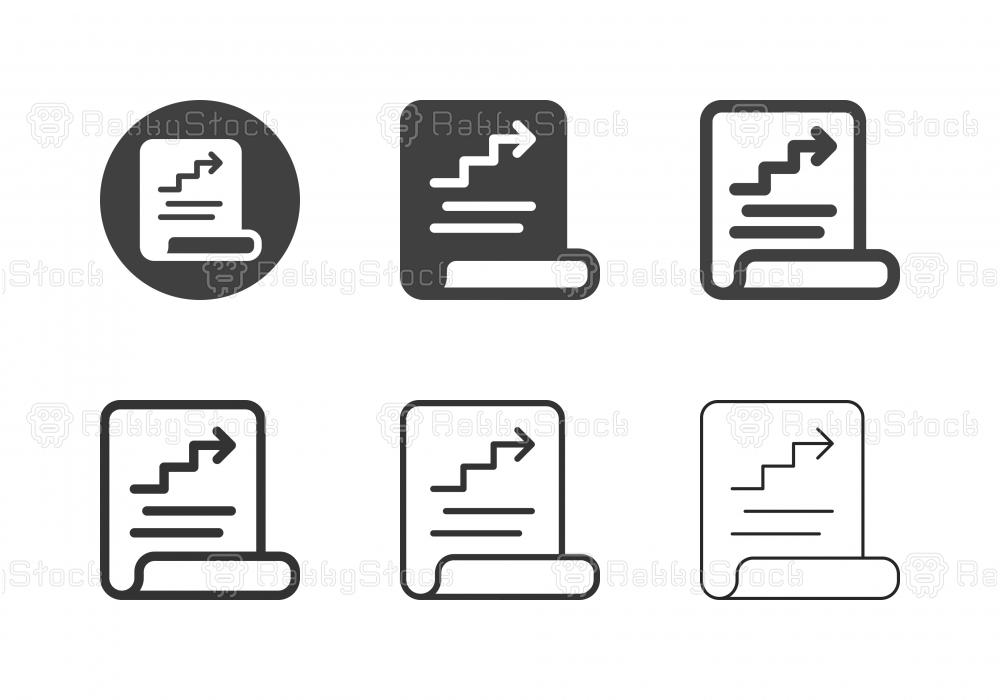 Document Report Icons - Multi Series