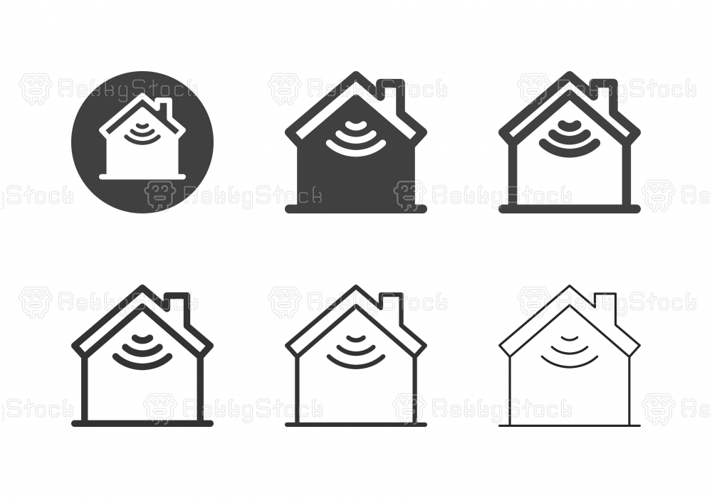 Smart Home Icons - Multi Series