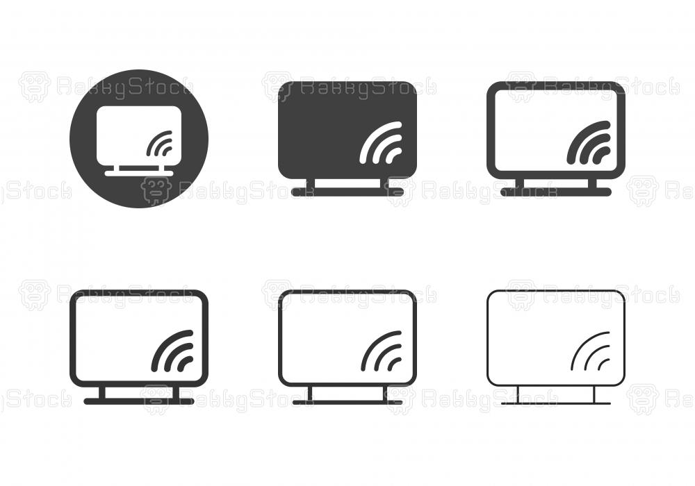 Smart TV Icons - Multi Series